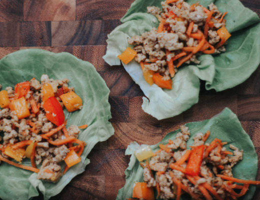 Chicken Lettuce Wraps JMJ
